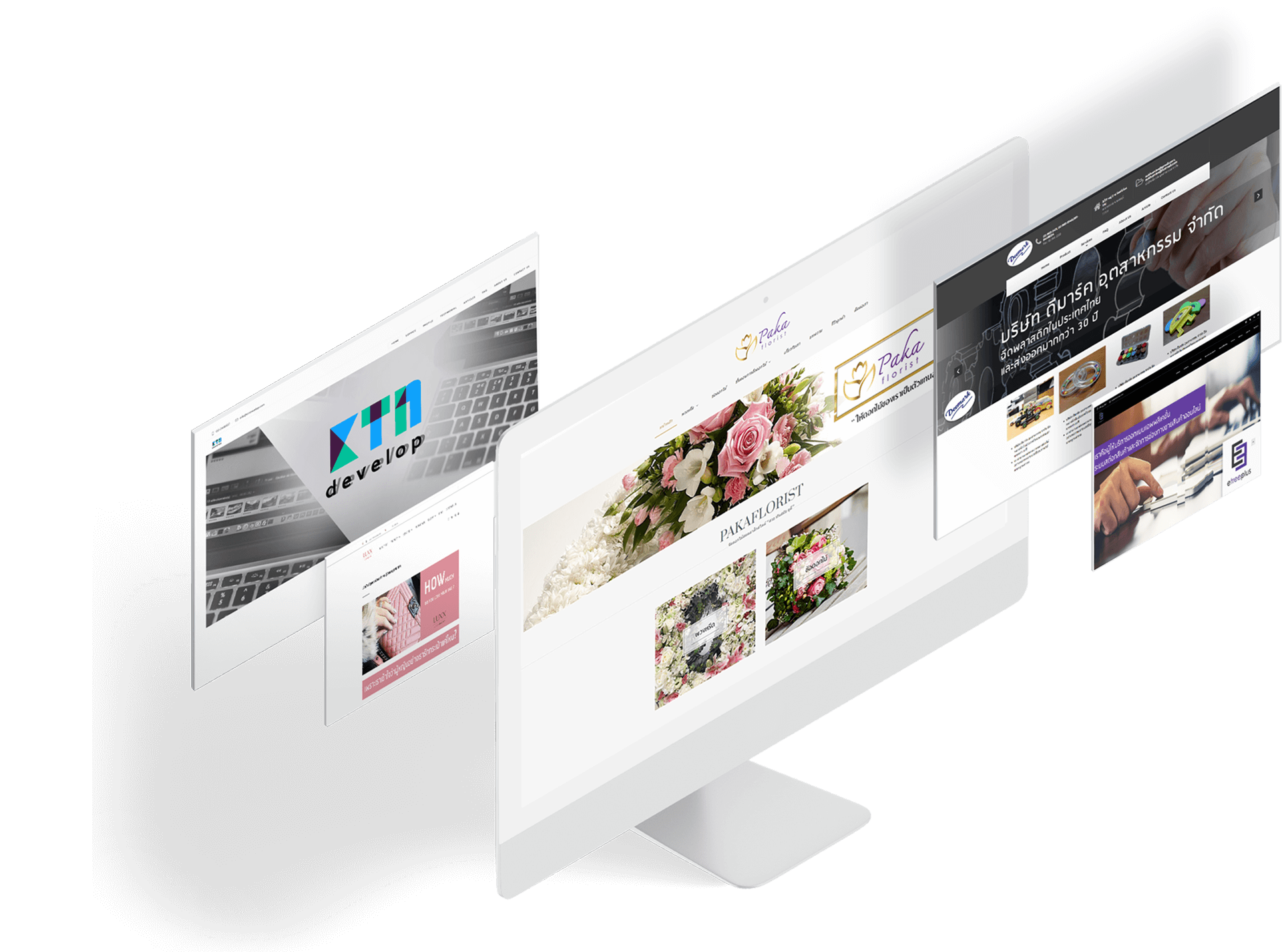 ออกแบบดูแลเว็บไซต์ด้าน Admin Social Businessออกแบบดูแลเว็บไซต์