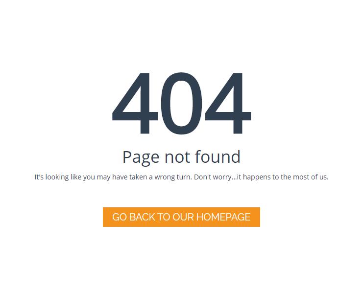 404 ERROR PAGE หน้าเว็บไซต์ที่ใครก็มองข้าม Error 404 Not Found